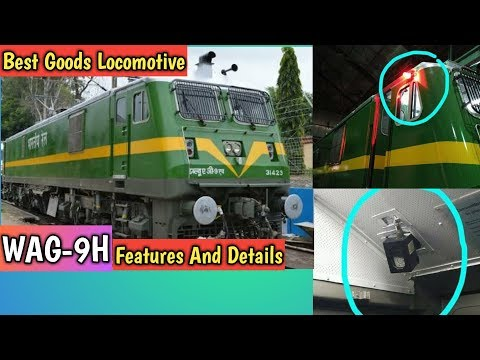 Indian Railway WAG 9H Features and Details