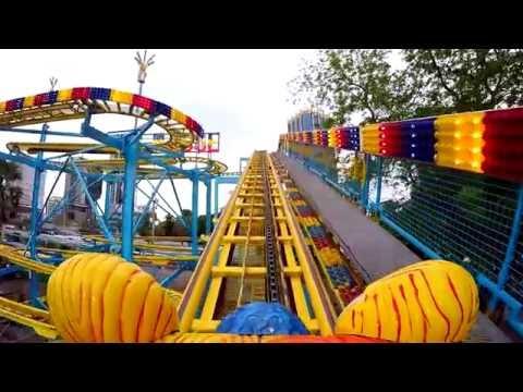 รถไฟเหาะหมุน Wild Mouse - สวนสนุก Global Carnival 2016