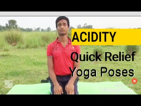 acidity quick relief yoga poseskarunamay sarkar at