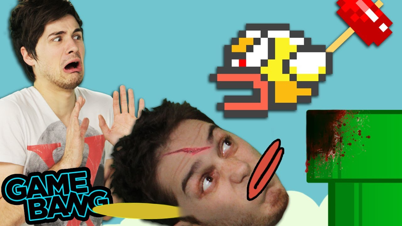 FLAPPY BIRD DESTROYS US Game Bang YouTube - Flappy bird in real life