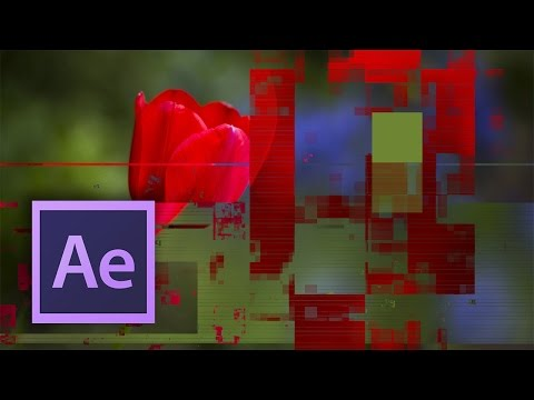 After Effects - Digital Glitch Tutorial (No Plugins Needed)