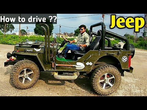 How To Drive Jeep