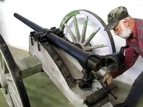 Whitworth's Original Breechloading Cannon