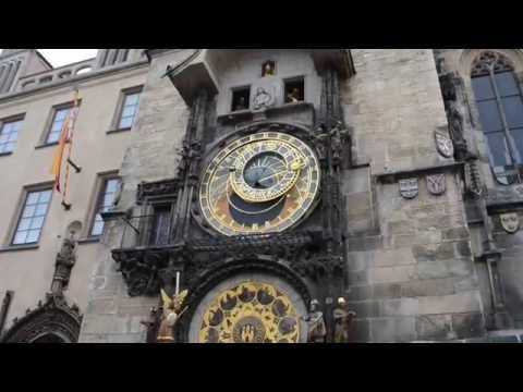 Prague Astronomical Clock show