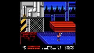 Double Dragon- NES one credit clear