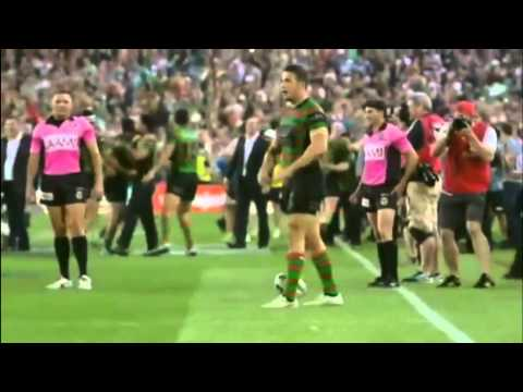 South Sydney Rabbitohs vs Canterbury Bankstown Buldogs (NRL Grand Final 2014) Last 10 minutes