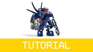LEGO Halo Hunter Tutorial