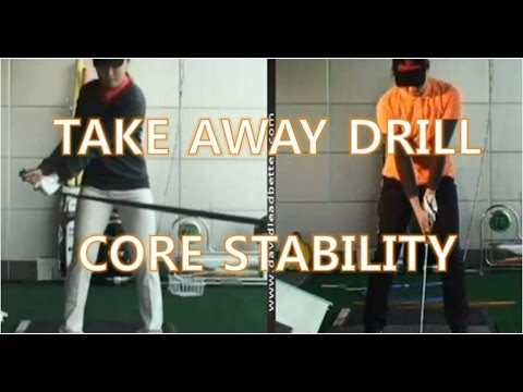 Golf Lesson - Takeaway Drill