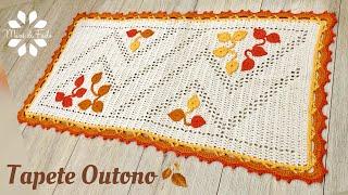 Tapete Outono Em Crochê – Passo A Passo