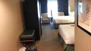 Walkthrough of New York New York Park Avenue Deluxe Room 2 Queens in Las Vegas