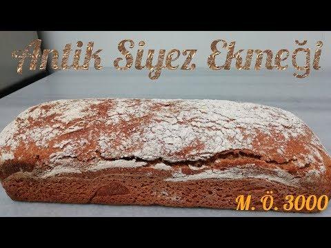 Antik siyez ekmeği nasıl yapılır, genetiği değişmemiş tek buğday 🌾
