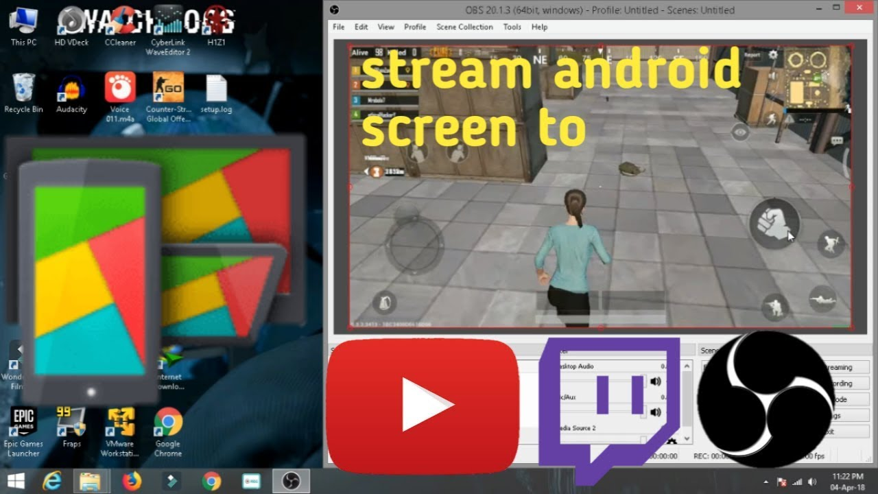 [HOW TO] Mirror Android screen to Windows using OBS