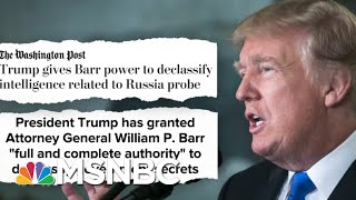 Is Trump HIding From Whistleblower? Fmr Prosecutor Says He Can Declassify 'Anything'