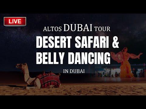 LIVE TELECAST : ALTOS DUBAI TRIP : DESERT SAFARI