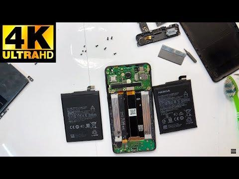 Nokia 2 TA-1029 TA-1035 - замена батареи аккумулятора разборка / Battery Replacement Disassembly