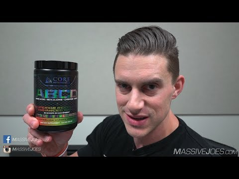 Core Nutritionals ABCD Amino Acids + Energy Supplement Review - MassiveJoes.com Raw Review