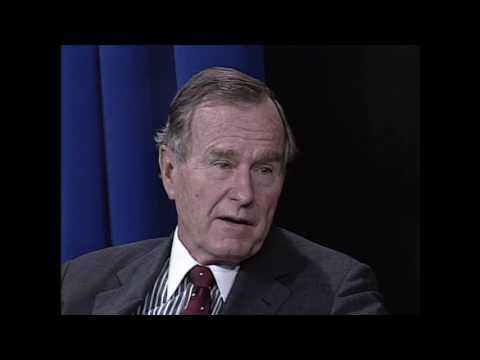 Interview with President George H. W.  Bush