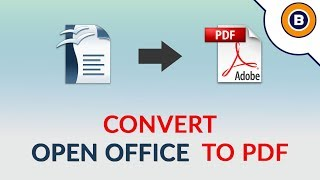 How to Bulk Convert Open Office ODT Document to Adobe PDF Document