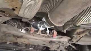 Пламегаситель на Ford Focus. Замена катализатора на пламегаситель.