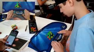 3 03 official pyraminx average 8wr and 3nar