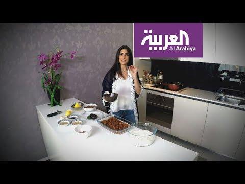 مطبخ العربية | فتة المكدوس السورية على طريقة هبة  زعرور  - نشر قبل 2 ساعة