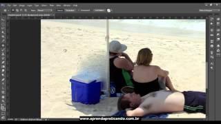 Video aula 02 Photoshop CC - Removendo pessoas e objetos das fotos