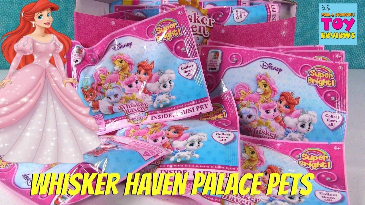 DISNEY WHISKER HAVEN TALES PALACE PETS 9 MINI FIGURES SET SERIES 4 NEW
