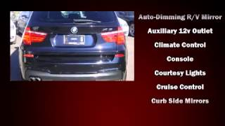 2011 BMW X3 xDrive35i / M-SPORT / NAVI / B.CAM / PANO ROOF