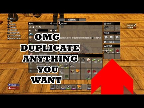 7 Days To Die: HOW TO DUPLICATE ANY ITEM IN 1.9 PS4/XBOX1
