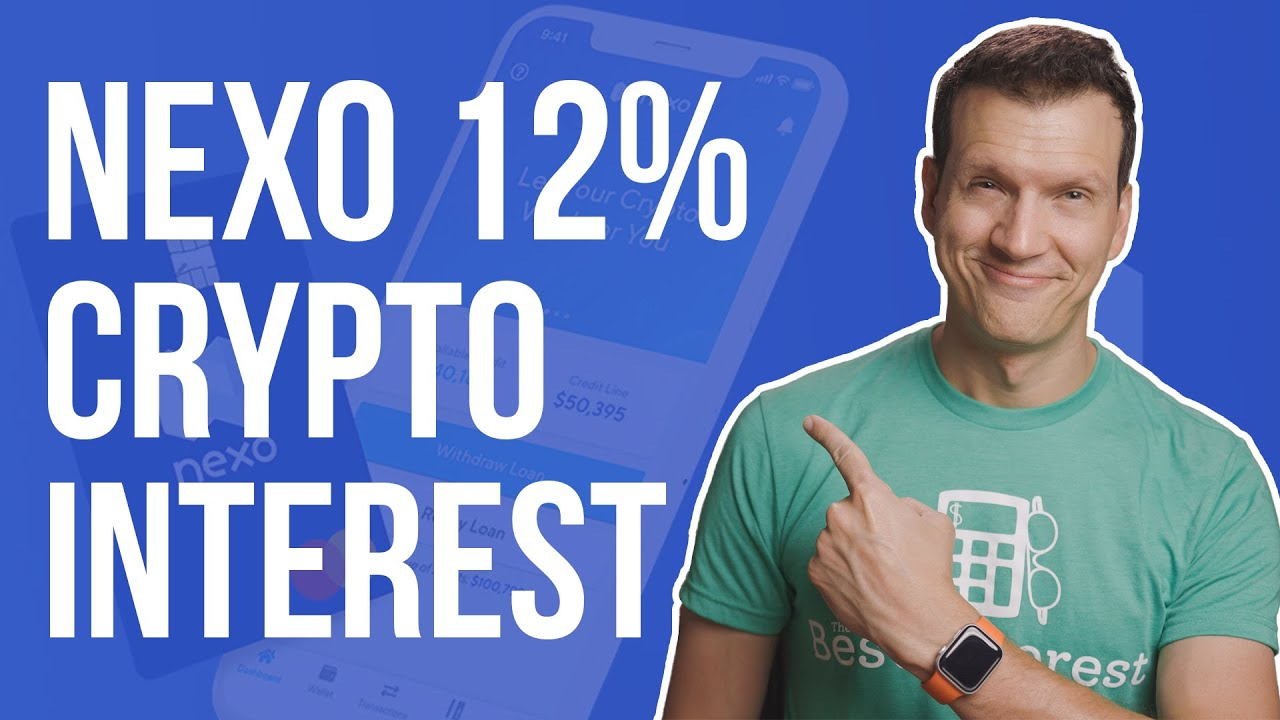 Download NEXO Crypto App Review | 12% Interest! | Is it the best crypto account?