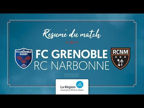 Grenoble - Narbonne U16 : le résumé vidéo