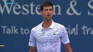 Highlights: Haase, Djokovic, Dimitrov Win In Cincinnati Wednesday