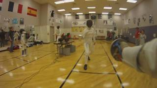 Fencing with a GoPro HD - Chest Mount
