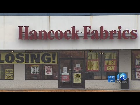 Hancock Fabrics Is Going Out Of Business