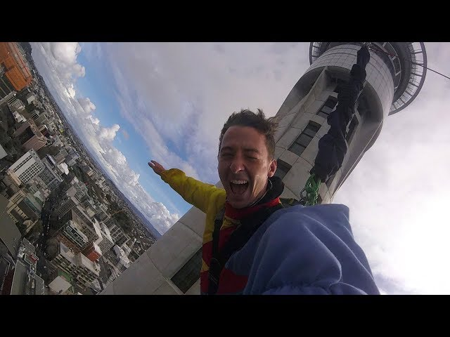 Zachary's Vlog, Days 6-8: Jumping Off a 1,100-Foot Building