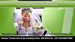 Tips On Renting A Wedding Limo In Brampton, Mississauga, Toronto !