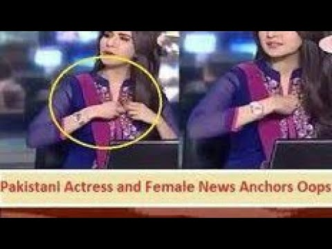 Pakistani Hot News Anchor || oops moment || Funny hot || Don