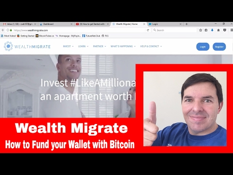 How to Fund your Wealth Migrate Wallet with Bitcoin
