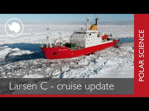 Larsen C Benthos - Science Cruise Update