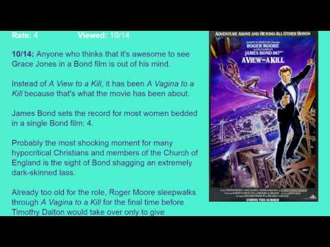 Movie Review: A View to a Kill (1985) [HD]