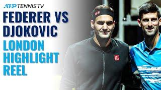 Roger Federer vs Novak Djokovic: ATP Finals London Highlight Reel