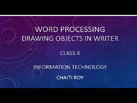 Drawing Objects In Open Office Writer