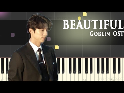 Goblin [도깨비 OST Part 4] - Beautiful - Crush (크러쉬) - Piano Tutorial