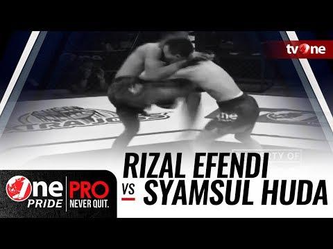 Rizal Efendi vs Syamsul Huda - One Pride MMA #14