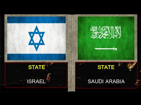 Israel vs Saudi Arabia - Army/Military Power Comparison and Other Statistics 2020