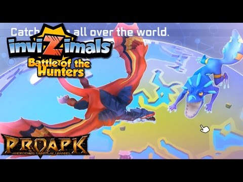 Invizimals: Battle Hunters Gameplay IOS / Android