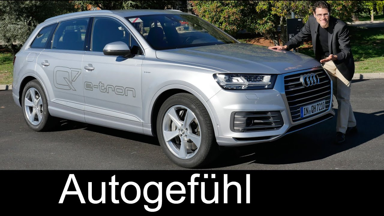 New Audi Q7 E Tron Plugin Hybrid Phev Full Review Test Driven 2016 Autogefühl
