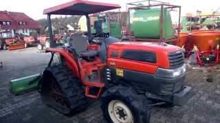 Kubota KL 25 ciągnik na gąsienicach. www.traktorki-japonskie.waw.pl