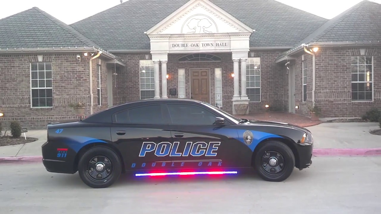 Dodge City Of Mckinney >> HG2 Emergency Lighting | Double Oaks Police Dept | 2013 Dodge Charger | Lighting Package - YouTube