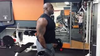 Barbell Curls 165lbs